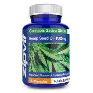 Hemp Oil 1000mg (180 Capsules)