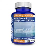 Omega 3 Fish Oils 1000mg Super Strength EPA DHA