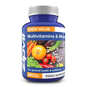 Zipvit Multivitamins and Minerals (360 Tablets) Image 1