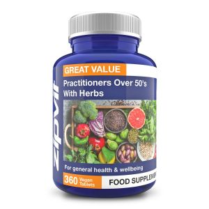 Multivitamin & Herbs Practitioners Over 50's