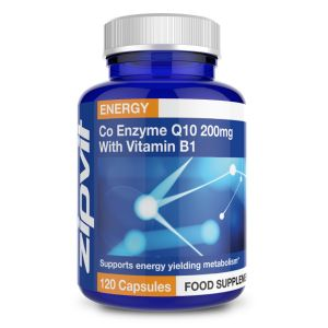 Co-Enzyme Q10 200mg with added Vitamin B1