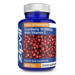 Cranberry Extract 10,000mg With Vitamin C