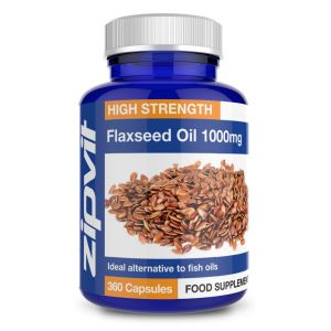 Organic Flax Seed Oil 1000mg