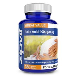 Zipvit Folic Acid (360 Tablets) Image 1