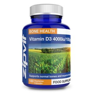 Vitamin D3 4000iu / 100mcg Softgel