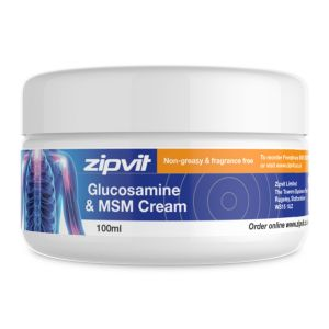 Zipvit Glucosamine and MSM Cream Image 1