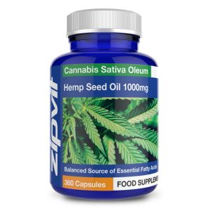 Hemp Seed Oil 1000mg