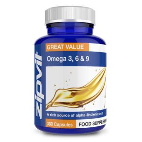 Zipvit Omega 369 (360 Capsules) Image 1