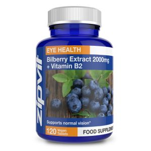 Bilberry Extract 2000mg + Vitamin B2