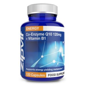 Co-Enzyme Q10 120mg + Vitamin B1