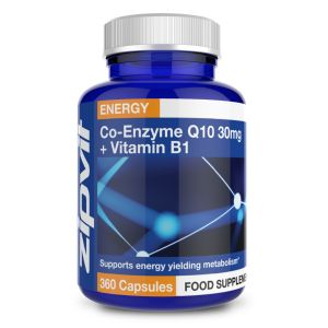 Co-Enzyme Q10 30mg with added Vitamin B1