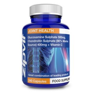 Glucosamine 500mg and Marine Chondroitin 400mg (90%) + Vitamin C