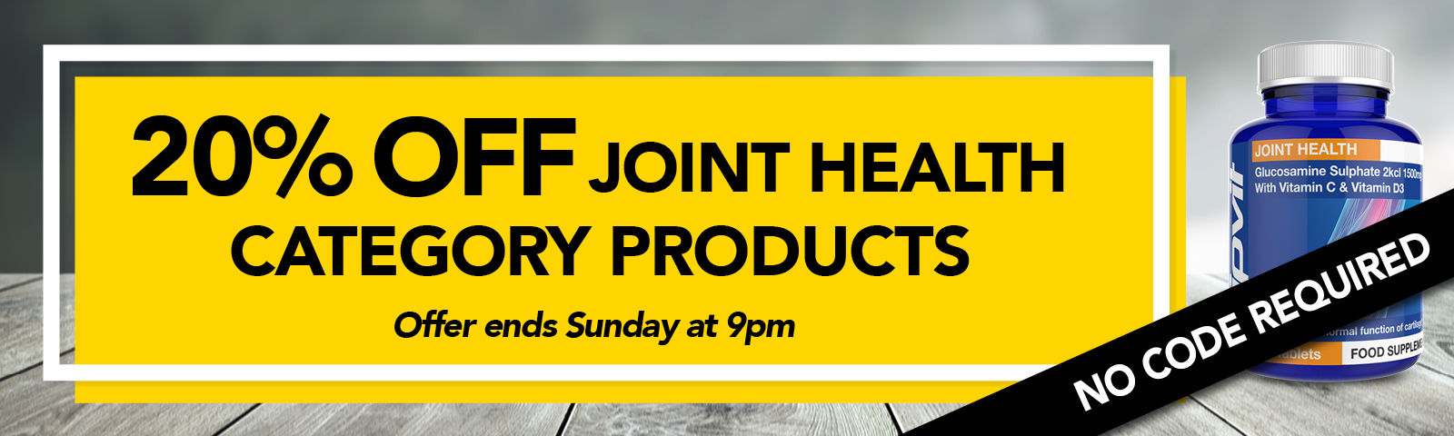 20% Off Joint Health