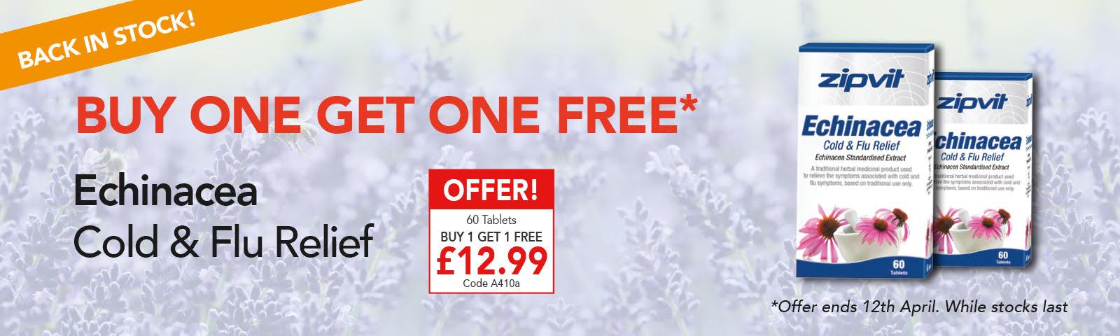 Buy 1 Get 1 Free Echinacea