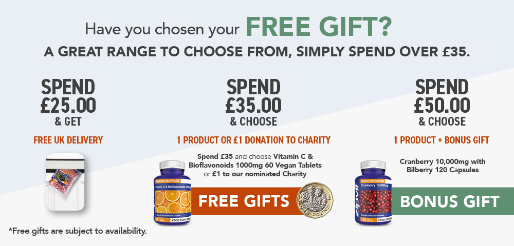 Free gifts with every order*