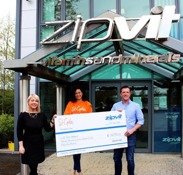 Our £20,751 St Giles Donation