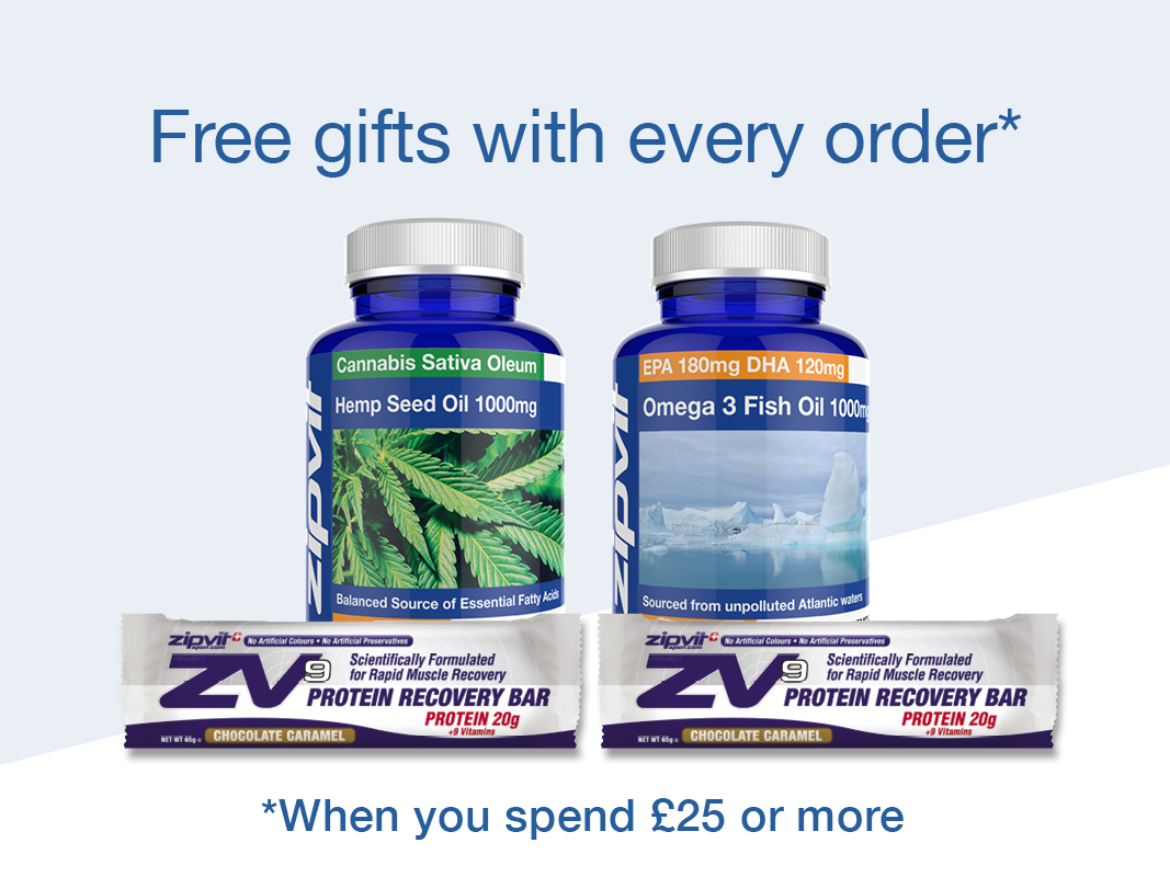 Free gifts with every order over £25