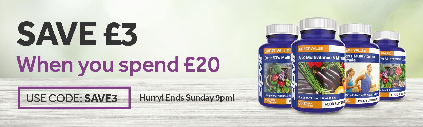 Save £3 this week
