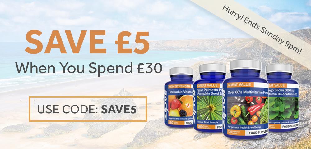 Save £5