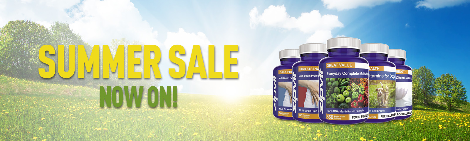 Zipvit Sale Is Now On