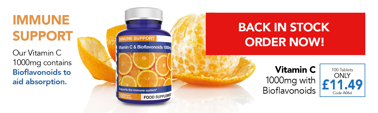 Vitamin C Back In Stock