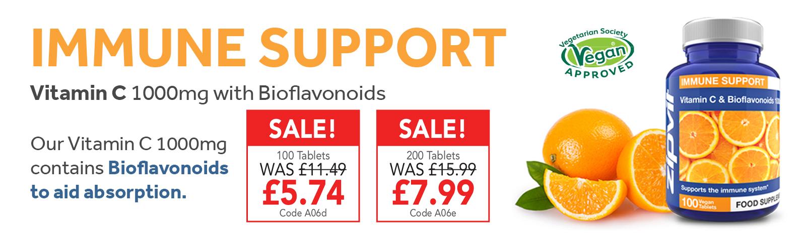 Vitamin C Tablets Half Price