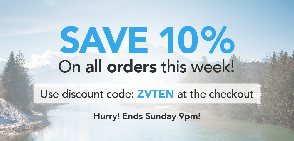 Save 10% On All Orders This Week