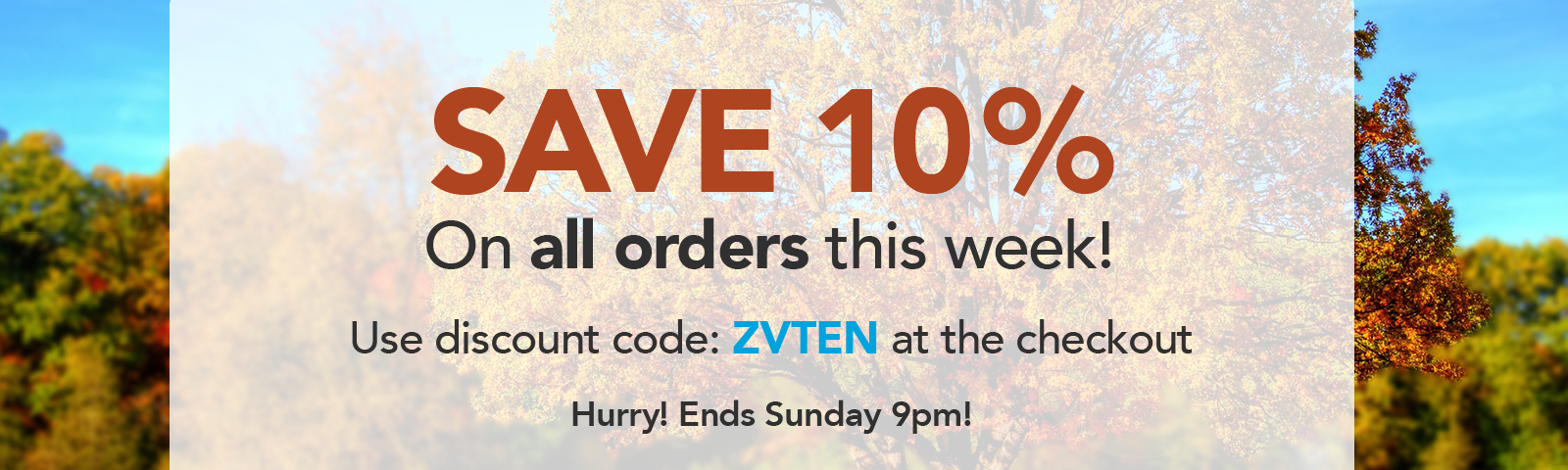 Save 10% This Week